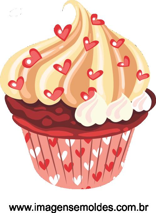 cupcake vetorizado 07