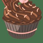 Cupcake vetorizado 08