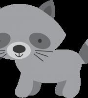 Imagem de Animais e Arca de Noé Guaxinim PNG – Personalizados
