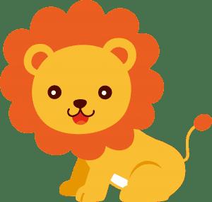 Imagem de Animais e Arca de Noé Leão PNG - Personalizados