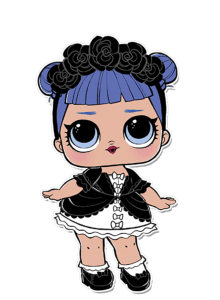 Bonecas LOL - Serie 2 - Cosplay Club Midnight