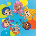 Bublle Guppies – Plano de Fundo 2 PNG