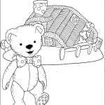 Desenhos Infantis para colorir do Andy Pandy
