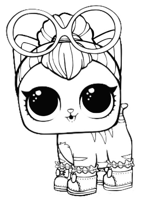 diva coloring pages - desenhos para colorir das bonecas lol surpresa febre do