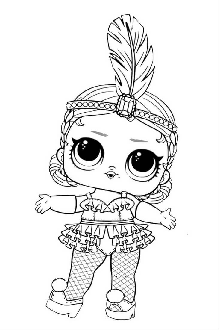 Drawing Lines With Qt : Desenhos para colorir das bonecas lol surpresa febre do