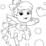 Desenhos para colorir de Bailarinas