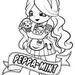 Desenhos para colorir dos Shopkins