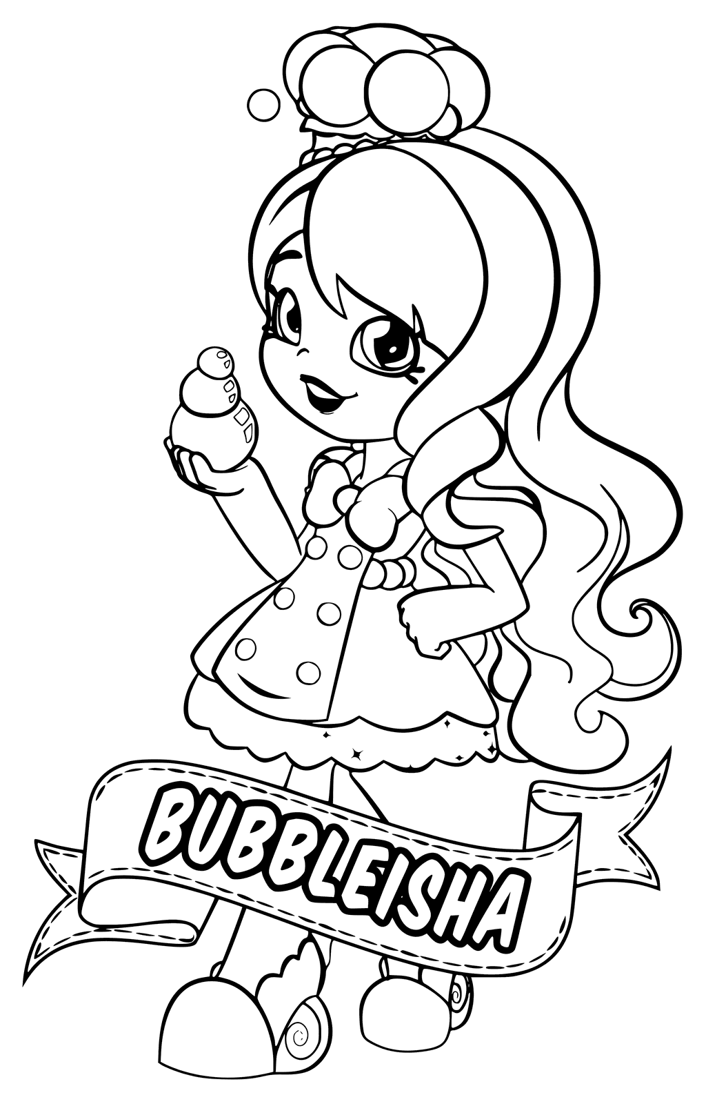 Chef Trolls Coloring Pages