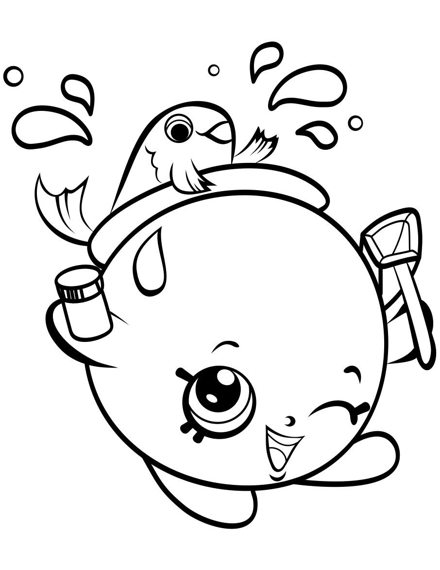 imagem para colorir shopkins shopkins batom tha pinterest batom