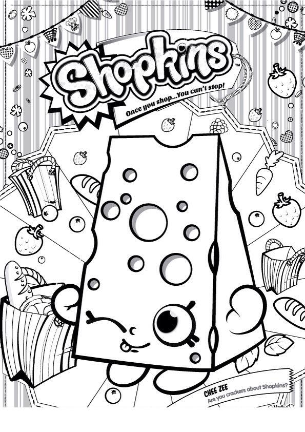 desenhos infantis para colorir dos shopkins