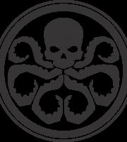 Hydra Marvel Shield Logo PNG