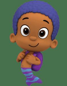 Imagem de Personagens Bublle Guppies - Goby