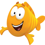 Imagem de Personagens Bublle Guppies – Mr. Grouper PNG