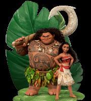 Imagem de Personagens Moana -Moana e Maui 2