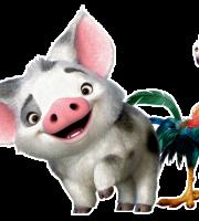 Imagem de Personagens Moana - Pua e Heihei