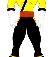 Imagem de Power Rangers - Power Rangers Amarelo PNG