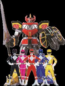 Imagem de Power Rangers - Power Rangers Robô
