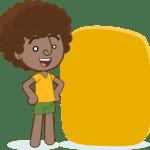Imagens Mundo Bita – Personagem Dan para Texto PNG