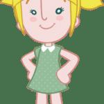 Imagens Mundo Bita – Personagem Lila PNG