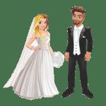 Imagens png de noivos casamento 36