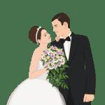 Imagens png de noivos casamento 45