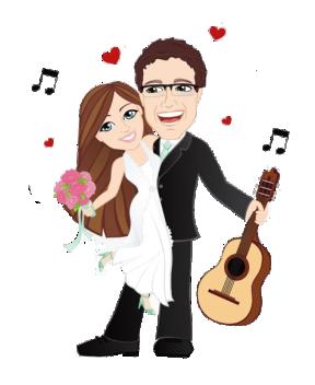 Imagens png de noivos casamento 47