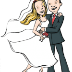 Imagens png de noivos casamento 49