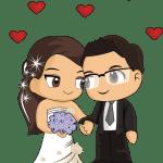 Imagens png de noivos casamento 51