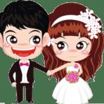 Imagens png de noivos casamento 55