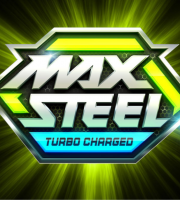 Max Steel - Background Logo Verde