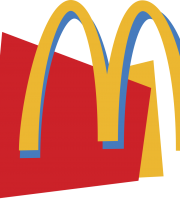 Mc Donald´s Logo Cores Vetor PNG