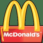 Mc Donald´s Placa Vetor e PNG