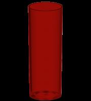 Mockup Copo Long drink Vinho