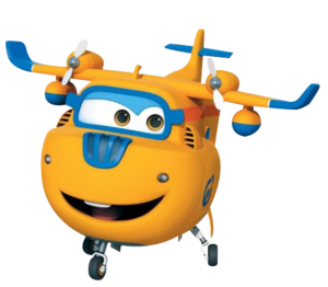 Super Wings - Donnie Super Wings 2