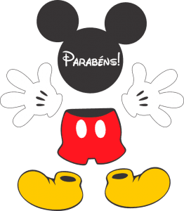 Turma do Mickey Mikey para Tubete Personalizado