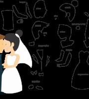 Molde de Casamento 16 para Eva, Feltro e Artesanato