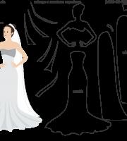 Molde de casamento 8 para eva, feltro e artesanato