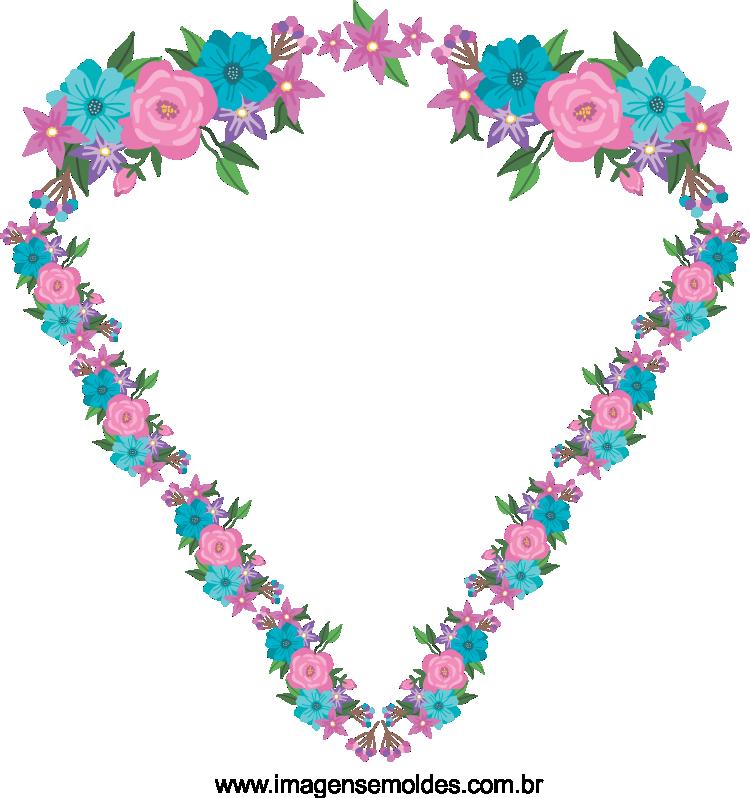 Modelo de imagem de flores 3 em png para casamento
