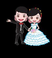 Imagens png de noivos casamento 04