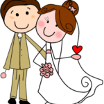 Imagens png de noivos casamento 06