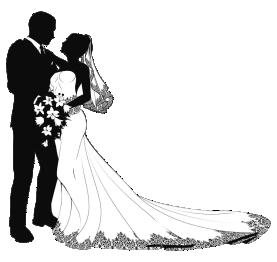 Imagens png de noivos casamento 09