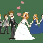 Imagens png de noivos casamento 15