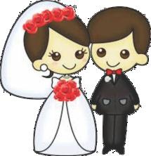 Imagens png de noivos casamento 39