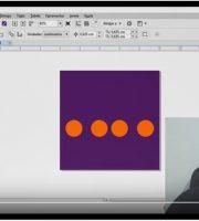 Como Alinha Objetos Desenhos Na Vertical - Curso de Corel Draw