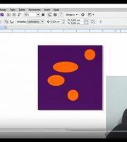 Como Alinhar Desenhos Objetos à Esquerda Direita - Curso de Corel Draw