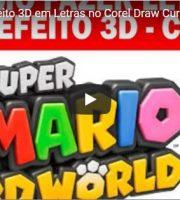 Como Fazer Efeito 3D em Letras no Corel Draw