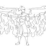 Desenhos para colorir de Avatar