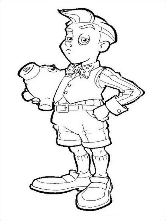 Desenhos infantis para colorir de lazy town for Stephanie coloring pages