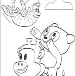 Desenhos para colorir do Julius Jr.