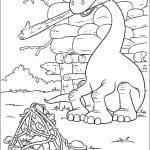 Desenhos para colorir do O Bom Dinossauro